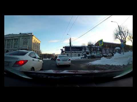 3: Russia, Ivanovo: Driving Downtown (4K)