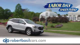 Lease A New GMC Terrain This Labor Day at Robert Basil Buick, GMC!