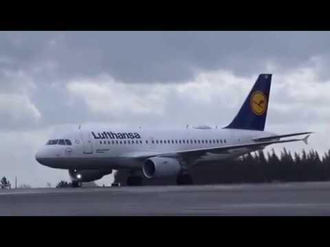 First Lufthansa flight to Santiago de Compostela