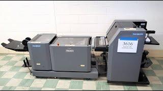 Duplo DSF-2000 Sheet Feeder, DBM-120SxS Bookletmaker & DBM-120T Trimmer - Inventory #3616