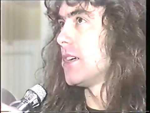 Iron Maiden Interview & studio Tocata Madrid 1983