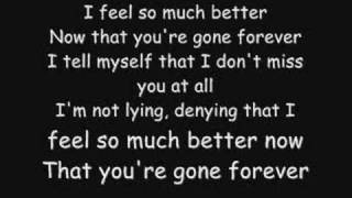 Repeat youtube video Three Days Grace - Gone Forever Lyrics