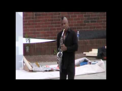 Unity Band at Boston City Hall Plaza, Bow Bow Song, Sax Solo, Funk