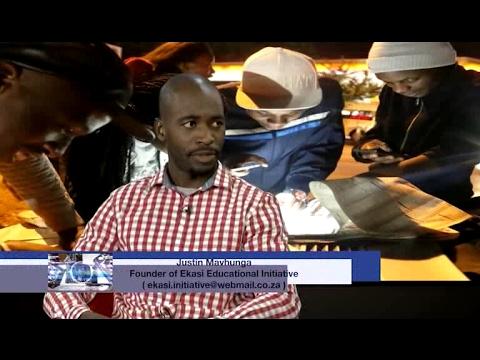 Soweto Today | Ekasi Educational Initiative | Founder Justin Mavhunga