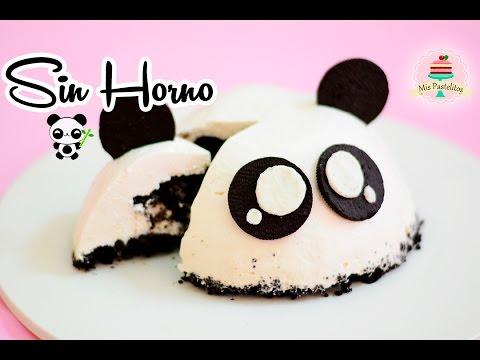 cheesecake-de-oreo-sin-horno-|-panda-|-mis-pastelitos