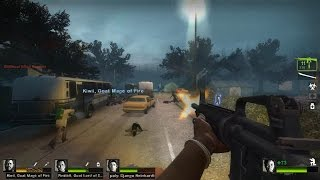Left 4 Dead 2 - Detour Ahead Custom Campaign Multiplayer Gameplay Walkthrough