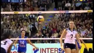 Mondiali Volley 2002 - Finale Italia-Usa 2°Set