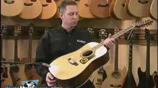 Washburn Acoustic 12-String Guitar D10S12 Demo