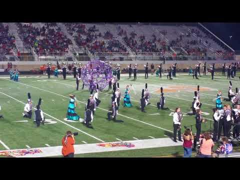 Aledo High School band 2017 Marching Show - Garden of Glass @ Aledo vs. Mansfield Legacy