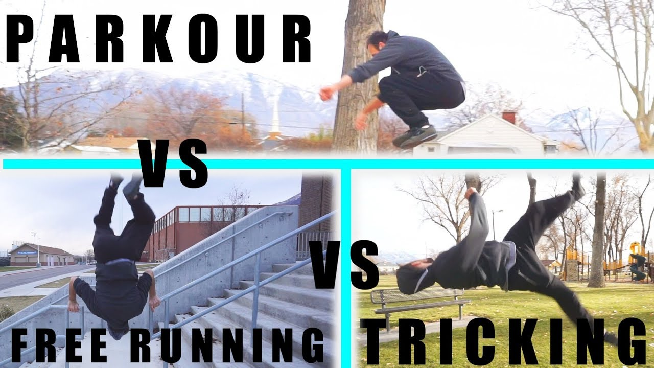 difference between parkour and free running