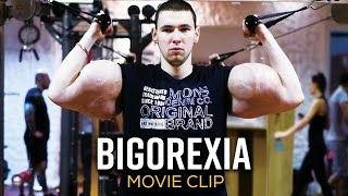 It's called 'bigorexia' and experts believe thousands of men are living with the extreme body image .