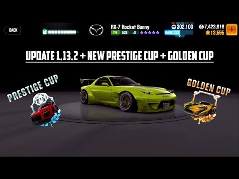 CSR Racing 2 News | New Cars, Golden Cup and Changed Prestige Cup - 1.13.2 Update