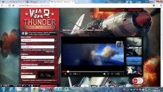 War thunder - регистрация