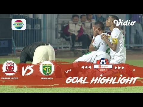 Madura United (2) Vs (3) Persebaya Surabaya - Goal Highlights | Shopee Liga 1