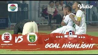 Madura United (2) vs (3) Persebaya Surabaya - Goal Highlights | Shopee Liga 1
