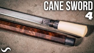 MAKING A CANE SWORD!!! Part 4 - Finished!!!