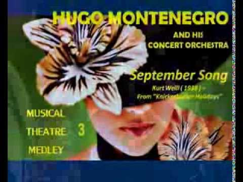 The Montenegro Concert Orchestra -Musical Theatre Medley 3