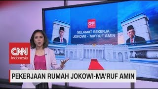 Ini Nih PR Jokowi-Ma'ruf Amin