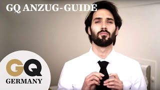 Der GQ Anzug-Guide in Kooperation mit Hugo Boss