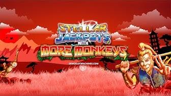 Stellar Jackpots Online Slot with More Monkeys