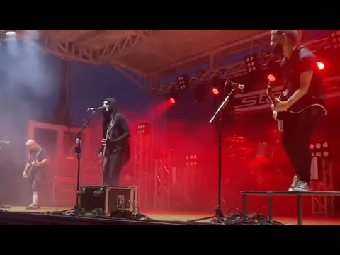 Static-X performed 1st time live since pandemic outside in ringle WI ..!