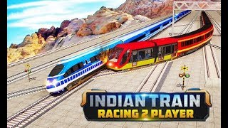 Indian Train Racing Games 3D - Android Gameplay 2018  | Droidnation