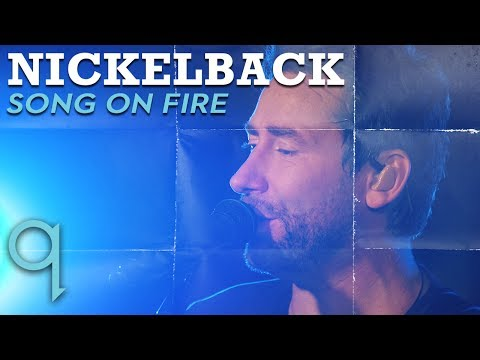 Nickelback - Song On Fire (LIVE)