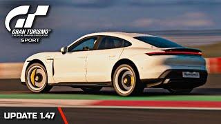 Gran Turismo Sport   2019 Porsche Taycan Turbo S Gameplay (Update 1.47)