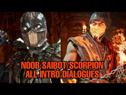 Mortal Kombat 11 / All Scorpion & Noob Saibot Intro Dialogues