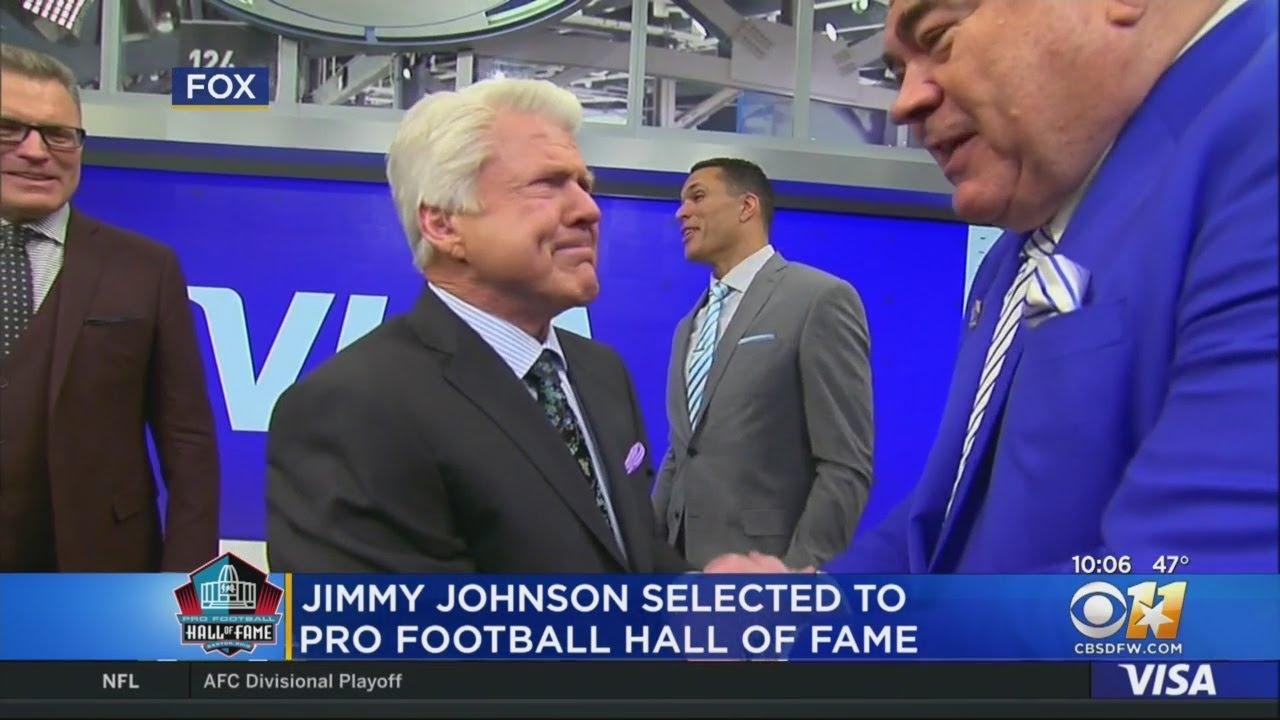 Super Bowl-winning coach Jimmy Johnson into Hall of Fame