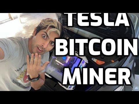 Tesla Bitcoin Miner LIVE