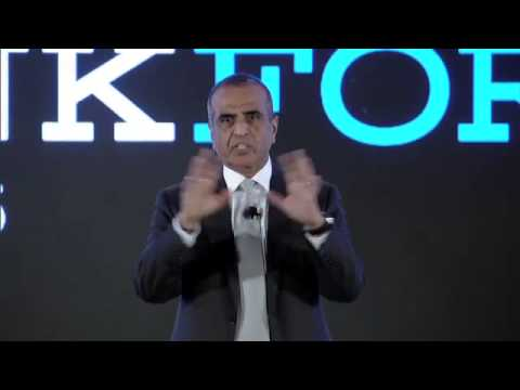 THINKForum India 2015 Sunil Mittal, Chairman, Bharti Enterprises