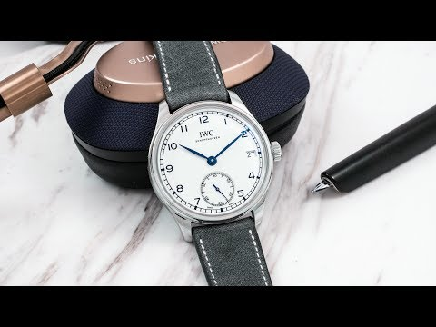 A Week On The Wrist: The IWC Portugieser Hand-Wound Eight-Days Edition '150 Years'