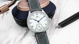 A Week On The Wrist: The Iwc Portugieser Hand-wound Eight-days Edition '150