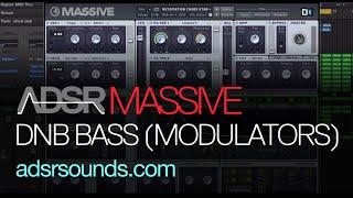 NI Massive Tutorial - DnB Bass Using Stepper and Performer
