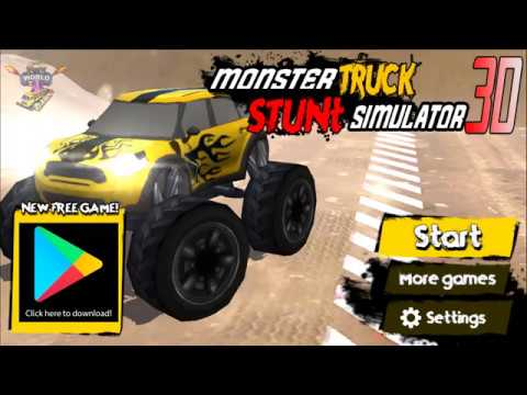 monster truck stunt simulator 3d apps on google play
