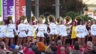 "USC Band ""The Kids Aren't Alright"" Union Square San Francisco California 2018"