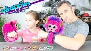 Les WRAPPLES : des bracelets interactifs et tout doux à câliner ! TROP MIGNON TROP CUTE !!!