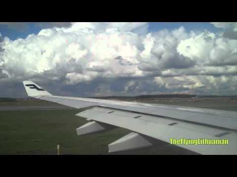 Finnair A330-300 Takeoff from Helsinki-Vantaa (HEL/EFHK)
