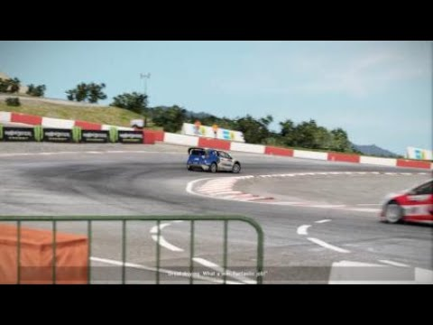 Project CARS 2 road of rally cross i set it 2 easy