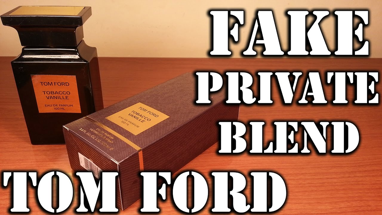 Fake Fragrance Tobacco Vanille By Tom Ford Youtube