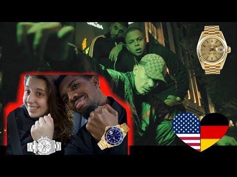 American's Reaction To German Rap - Roli Glitzer Glitzer | Capital Bra ft. Luciano & Eno