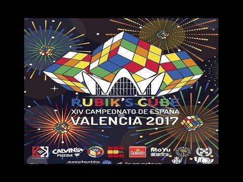 XIV Campeonato de España Cubo de Rubik 2017 | Final | Blog