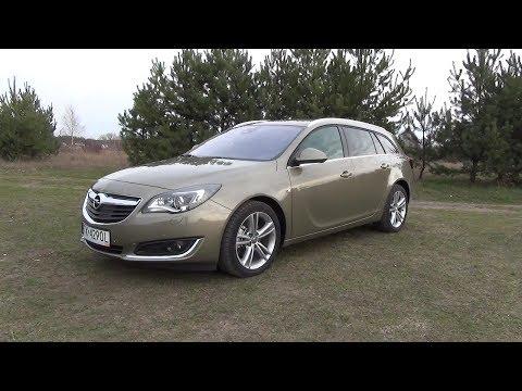 [PL] 2014 Opel Insignia ST FL 2.0 CDTI Bi-turbo 195 KM Prezentacja / Walkaround