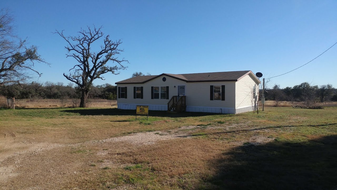 move in ready double wide home for sale in gatesville tx youtube