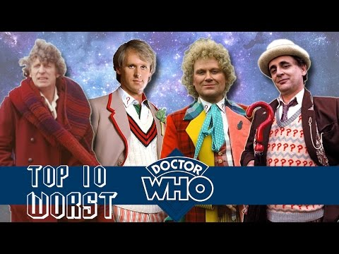 Top 10 WORST Doctor Who Stories (Classic Series)