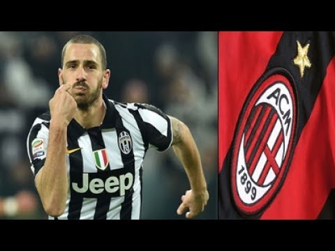 Calciomercato: Offerta del Milan per Bonucci. C'è il sì del giocatore, la Juve prende tempo
