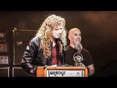 Megadeth - Dave Mustaine - Metal Hammer Golden Gods 2015 Thumbnail image