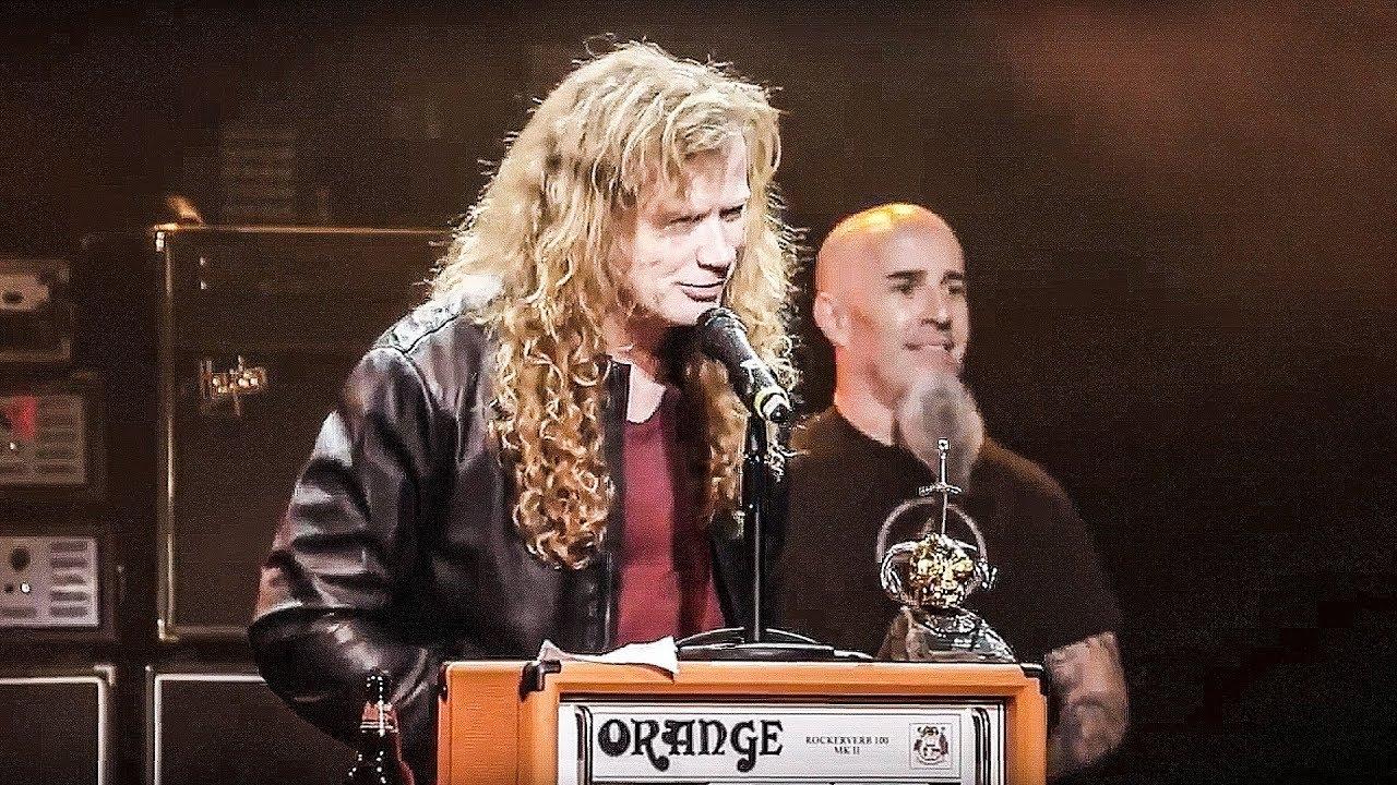 Megadeth — Dave Mustaine — Metal Hammer Golden Gods 2015