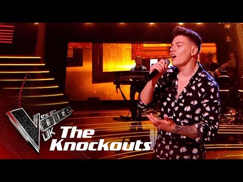 Jamie Grey Performs 'Faith': The Knockouts | The Voice UK 2018